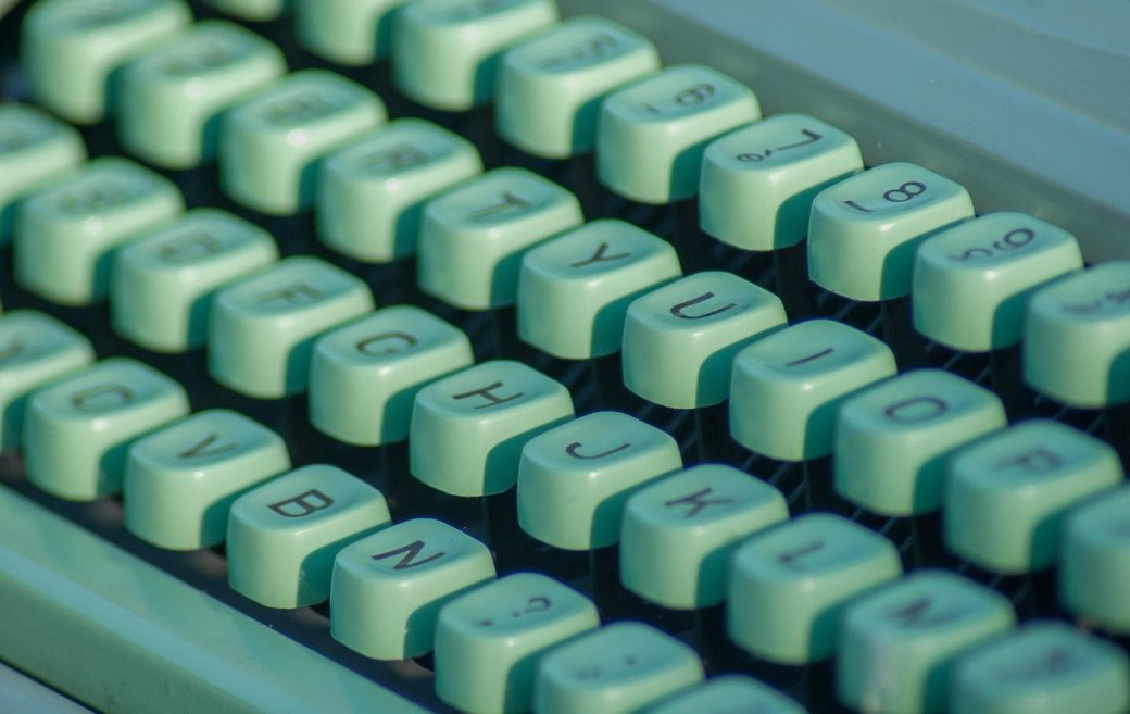 typmachine - afbeelding bij Wie ben ik nog als ik geen schrijver ben