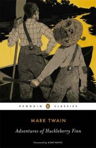 boekomslag The adventures of Huckleberry Finn